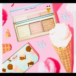 New Too Faced Triple Scoop Highlighting Palette